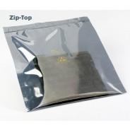 "3M™ Static Shielding 10""x14"" Zip-Top Bag Metal-In 100/Pack"