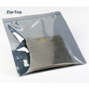 "3M™ Static Shielding 11""x15"" Zip-Top Bag Metal-In 100/Pack"
