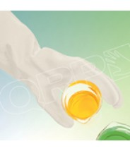"QRP Poly-Tuff Glove 14""L Hypalon Ultimate Acid & Alkali Class 100 (ISO 5) Universal Size 1Pair/Bag"