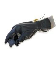 "QRP Poly-Tuff ESD Glove 12""L Black Conductive 1.5mil Urethane Class 100 (ISO 5)"