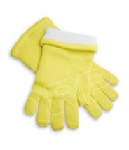 "QRP Dissipative Qualatherm® 14""L Cleanroom Glove Extreme High-Temp Wool -210°F to 1000°F Class 100 (ISO 5)"