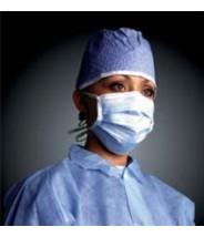 APP09000B  Surgical Cap Blue