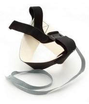 Botron Heel Strap Cup Style Black Snap-Loc Ergo-One No Resistor