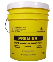 Botron B8105 Clean Stat 4 ESD Floor Finish 5Gallon  Pail