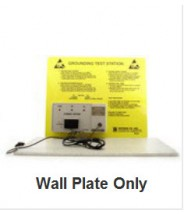 B8506WP Botron Wrist Strap Tester Wall Plate Only