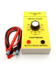 B85503 Botron Deluxe Dual Test Station With Molded Foot Plate