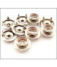 "B9867 Botron Male Stud Snaps 3/8"" (10mm) Push & Clinch  20/Pack"