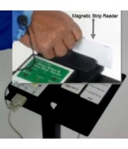 BC-8950 Static Solutions Barcode or Magnetic Stripe Reader