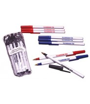 Clean-Write Pen Ball Point Cleanroom Low Sodium Contamination Color: Black 10/Pack 10packs/Case