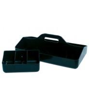 Transforming Technologies TC0839  ESD-Safe Tool Carrier Black Conductive Polypropylene (VSP)