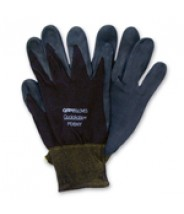 QRP Qualagrip® Assembly/Inspection Gloves With Black Nitrile-Foam Dipped Palms & Fingers Size: Small Color: Black 12Pair/Pak