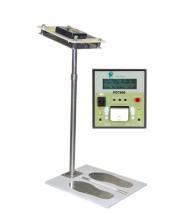 "Transforming Technologies PDT800 Ohm Metrics™ ""Near-Fail"" Digital Wrist Strap/Footwear Combo ESD Tester Wall Mount Tester & Footplate 120V (VSP)"