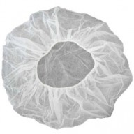 "Epic Cleanroom Disposable 24"" Bouffant White Polypropylene *Latex Free* 1000/Case"