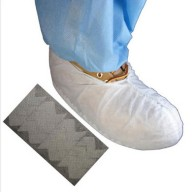 Epic Shoe Cover  Cleanroom Skid Free Polypropylene Color: White Size: X-Large 100/Bag 3Bags/Case