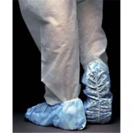 UltraGuard Shoe Cover Cleanroom Skid Free Polypropylene Color: Blue  Size: Universal  100/Box 3Box/Case