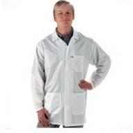"Tech Wear EconoShield ESD-Safe 33""L Coat ECX-500 Color: White Size: Medium"