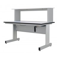 All American Adjustable Height Bench - Manual - Hand Crank