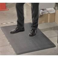 "Transforming Technologies ESD-Safe Standard Anti-Fatigue Roll PVC 3'x60'x3/8"" Color: Gray"