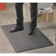 "Transforming Technologies ESD-Safe Standard Anti-Fatigue Roll PVC 2'x60'x3/8"" Color: Gray"
