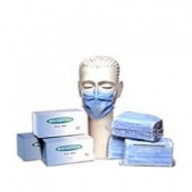 "Ultraguard Mask Ear Loop 3 Ply Blue ""Latex Free"" 50/Bag 10 Bag/Case."