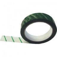 "Botron 1""x216' Anti-Static Tape With  Green Stripe 3″ Core 36/Case *Case Minimum*"