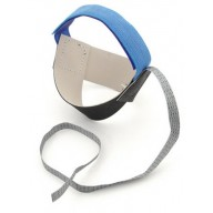 Botron Heel Strap Cup Style Black Non-Marking Ergo-One With 1 Meg Resistor