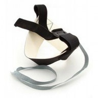 Botron Heel Strap Cup Style Black Snap-Loc Ergo-One With 1 Meg Resistor