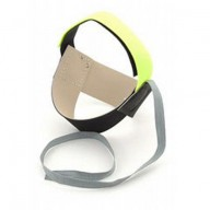 Botron Heel Strap Cup Style Day Glow Yellow Non-Marking Ergo-One No Resistor