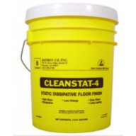 Botron Clean Stat 4 ESD Floor Finish 1Gallon 4Gallons/Case