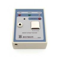 Botron Portable Wrist Strap Tester Includes 9 Volt Battery