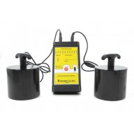 Botron Surface Resistance Meter Kit LED 100 Volt Megohm With (2) 5lb Weights, Leads & Case