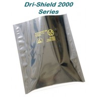 3M™ DriShield 2000 8x12 ESD-Safe 3.6mil Moisture Barrier Bag ESD/RFI/EMI Protection 100/Pack