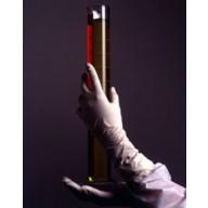 "DuraShield Nitrile Glove Cleanroom 12"" Powder Free 5mil Textured Finger Tip  Color: White Size: Medium 100/Bag 10Bags/Cs"