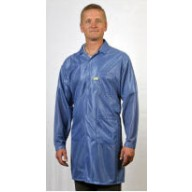 "Tech Wear ESD-Safe 32""L Traditional Coat OFX-100 Color: Blue Size: 3X-Large"
