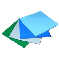 "Transforming Technologies  2-Layer Rubber Mattop 24""x72""x.080  Color: Nasa Blue"