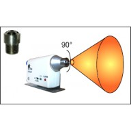 Transforming Technologies Ptec™ Wide Angle Output Nozzle Tip for IN3425 Ionizing Air Nozzle Standard 30-Degree Tip