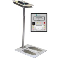 "Transforming Technologies Ohm Metrics™ ""Near-Fail"" Wrist Strap/Footwear Combo ESD Tester With Stand & Foot Plate"