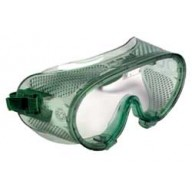 QVIS Expo Goggles Soft Vinyl with Polycarbonate Lens, Direct Vent, Scratch Resistant, ANSI approved. Z87.1 1989  Color: Clear 12/Bo,x