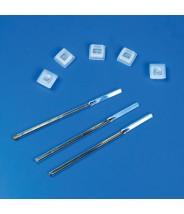 Globe Scientific Cap Plug for Square Spectrophotometer Cuvettes, LDPE, 500/Bag, 2 Bags/Unit 1000/Case
