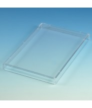 Globe Scientific Lid for MicroTest Well Plates Polystyrene STERILE Individually Wrapped 150/Pack
