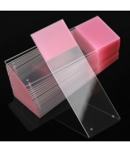 Globe Scientific Diamond™ White Glass Frosted Microscope Slides 25x75mm  90° Ground Edges 1 End-2 Sides1440/Case