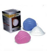 Respir-X Dust Cone Face Mask Color: Blue 50/Box ***PLEASE CONTACT US FOR PRICE & AVAILABILTY***