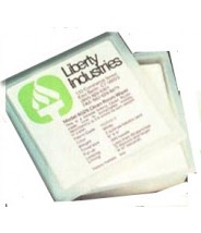 "Liberty Industries 8025 Econowipe 9""x9"" Virgin Polyester/Cellulose 300 Wipes/Tub 6 Tubs/Case"