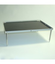 "Globe Scientific Nutating Mixer and Blot Mixer Accessory: Stackable Platform with Flat Mat 10.5"" x 7.5"""