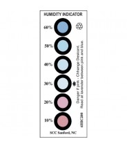 SCS Humidity Indicator Card 10-60%  6 Spot 200/Can