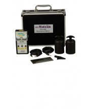 ACL Staticide Analog Megohmmeter Farenheit Surface Resistance & Resistivity Tester Kit w/ (2) 5 lb. Weight Electrodes, 110 Adapter, Cables & Case
