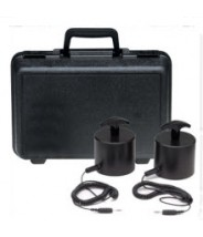 ACL Staticide Weight Kit for ACL390 Surface Resistance Meter, Includes (2) 5lb Probes, Cords & Carrying Case