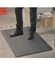 "Transforming Technologies ESD-Safe Standard Anti-Fatigue Roll PVC 3'x5'x3/8"" Color: Gray"