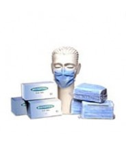 "Ultraguard Mask Tie-On 3 Ply Blue ""Latex Free"" 50/Bag 10 Bags/Case. ***PLEASE CONTACT US FOR PRICE & AVAILABILTY***"