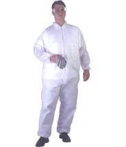 UltraGuard Coveralls Advantage I Elastic Wrist & Ankle Color: White Size:3XLarge 25/case